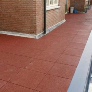 Smooth rubber flooring PP PPI40